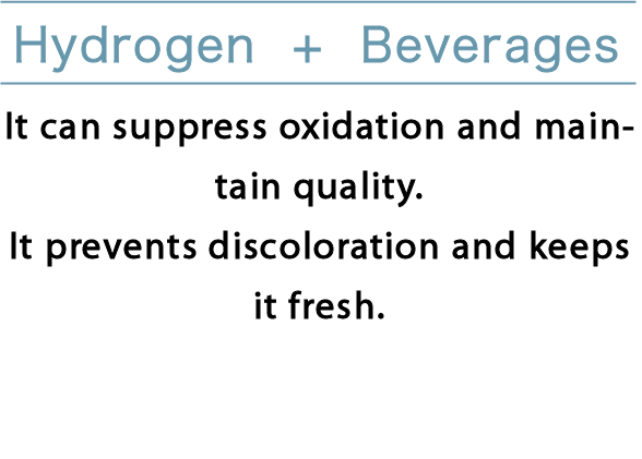 Hydrogen+Beverages