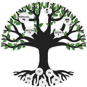 minerals-tree